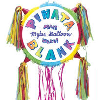 Blank Boy Drum Pull String Pinata. 19 ""