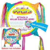 Blank Girl Drum Pull String Pinata. 19 ""