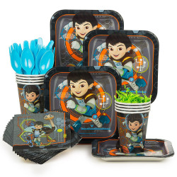 Miles From Tomorrowland Party Supplies Standard Kit (Serves 8)