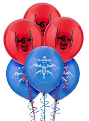 Star Wars Episode VII The Force Awakens Balloons 6ct