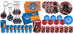 Star Wars Episode VII The Force Awakens 48 Piece Favor Pack for 8 Guest
