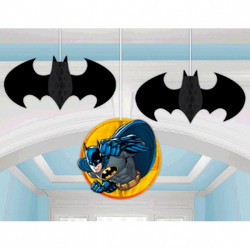 Batman Honeycomb Balls 3 count