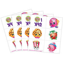 Shopkins Tattoos 24 pack