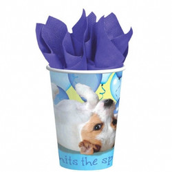 Party Pups Cups, 8ct 9oz.