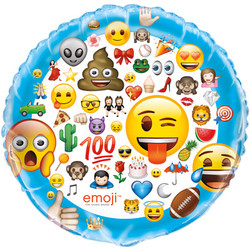 "34"" GIANT FOIL BALLOON EMOJI"