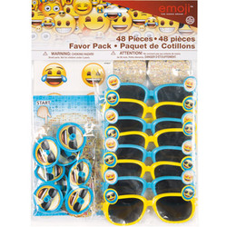 EMOJI 48PC FAVOR PACK