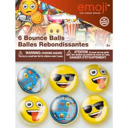 EMOJI BOUNCE BALLS (6 PACK)