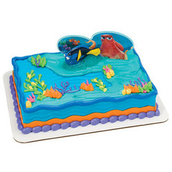 Finding Dory Fintastic Adventures 2 Piece Cake Decorating Set