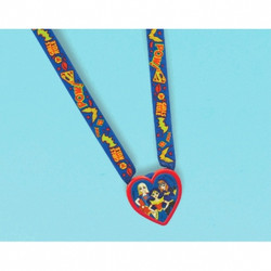 DC Super Hero Girls Charm Necklaces (12 pack)