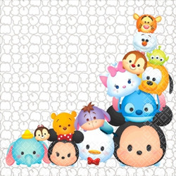 Disney Tsum Tsum Lunch Napkins (16 pack)