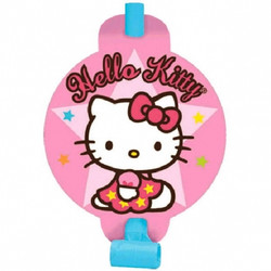 Hello Kitty Blowouts (8 pack)