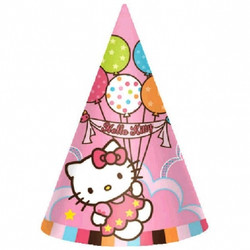 Hello Kitty Party Hats (8 pack)