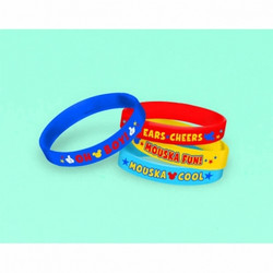 Mickey Rubber Bracelet Favors (4 pack)