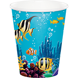 Ocean Party 9oz Cups (8)