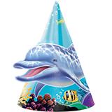 Ocean Party Cone Hats (8)