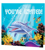 Ocean Party Invitations (8)