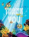 Ocean Party Thank You Cards (8)