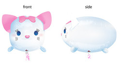 Shaped TSUM TSUM MARIE Aristocat
