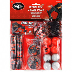 Ninja Mega Mix Value Pack Favors (48 PIECE)