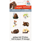 Secret Life Of Pets Tattoo Sheets (24 pack)