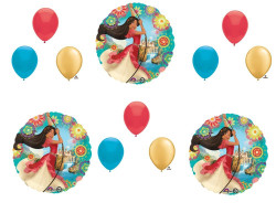 12 pc. ELENA OF AVALOR Happy Birthday Party Balloons Decoration Supplies Disney Show