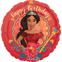 "18"" ELENA of  AVALOR Happy Birthday Foil Balloon"