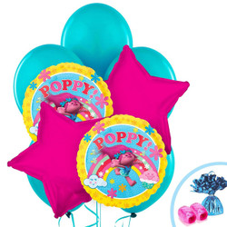 Trolls Balloon Bouquet 13 pieces