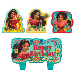 Disney Elena of Avalor Birthday Candle Set