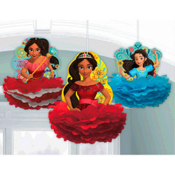 Disney Elena of Avalor Fluffy Decorations (3)
