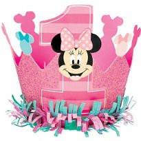 Disney Minnie's Fun To Be One Glitter Crown