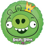"Angry Birds 9"" King Pig Balloon"