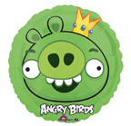 "Angry Birds 18"" King Pig Balloon"