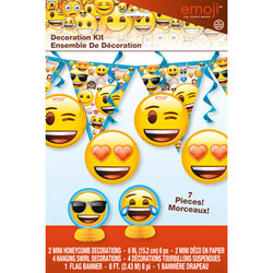 EMOJI 7 PIECE DECORATION KIT