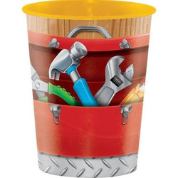 Handyman Plastic Keepsake Cup 16 oz