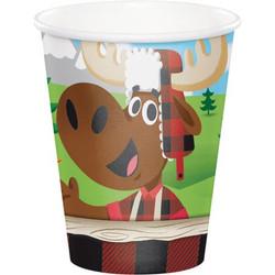 Lum-Bear-Jack 9 oz Cups (8)