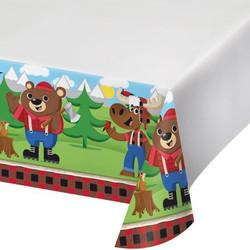 Lum-Bear-Jack Plastic Tablecover