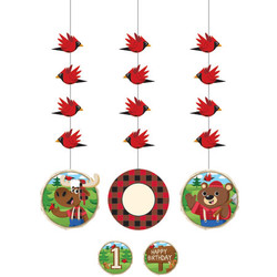 Lum-Bear-Jack Printed Hanging Cutouts(3)