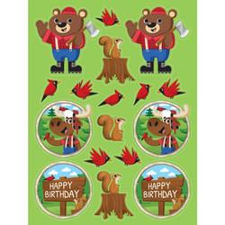 Lum-Bear-Jack Sticker Sheets (4)