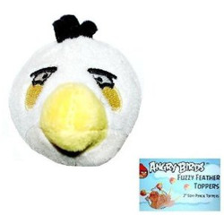 Angry Birds Fuzzy Pencil Topper - White Bird