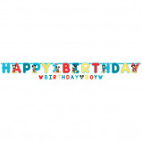 Mickey's Fun To Be One Jumbo Letter Banner Kit