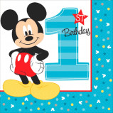 Mickey's Fun To Be One Lunch Napkins (16)