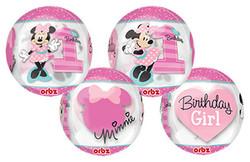 Minnie 1st Birthday Orbz