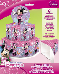 minnie favor box centerpiced decorations