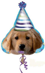 Party Pups 18'' Birthday Foil Balloon