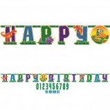 Prehistoric Party Jumbo Add-An-Age Letter Banner
