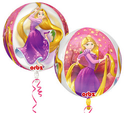 Rapunzel Clear Orbz Balloon