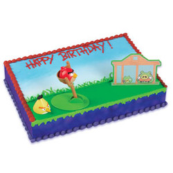 ANGRY BIRDS Cake Decorating Set