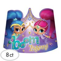 Shimmer and Shine Paper Tiaras (8)