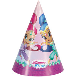 Shimmer and Shine Party Hats (8)