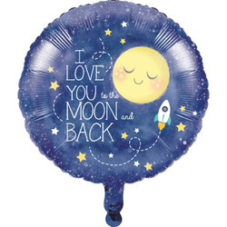 "To the Moon and Back 18"""""""" Balloon"